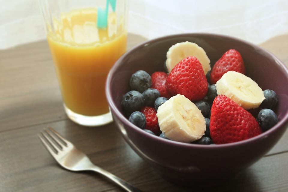 bowl con fruta