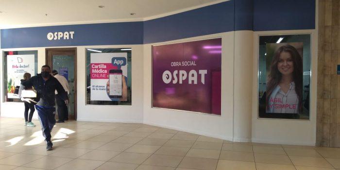 Ospat en Alto Dorrego Mall