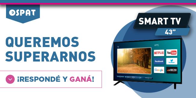 banner concurso sorteo televisor smart tv