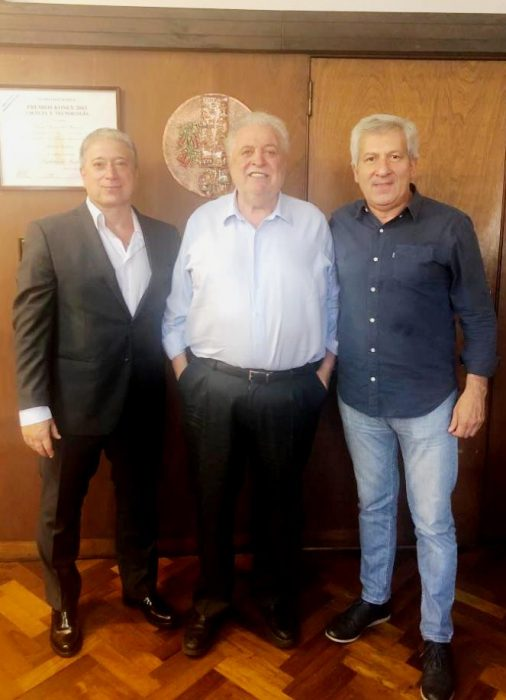 Carlos Felice, Ginés González García, Claudio Ferreño