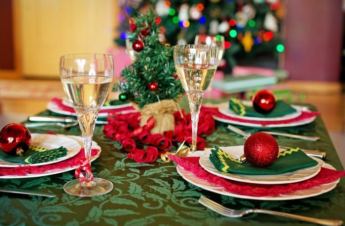 Mesa de Navidad. Fiestas