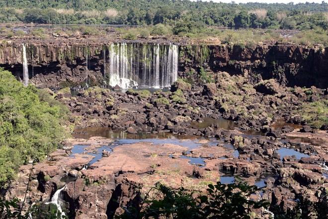 cataratas del Iguazú secas