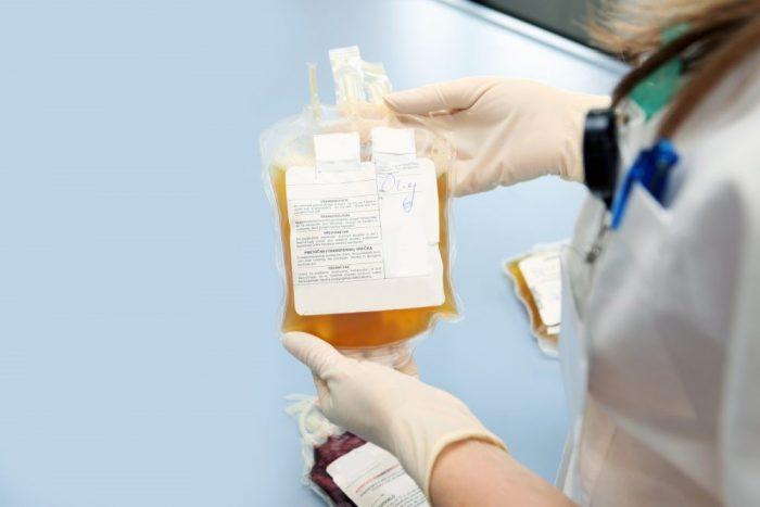 plasma paciente coronovavirus