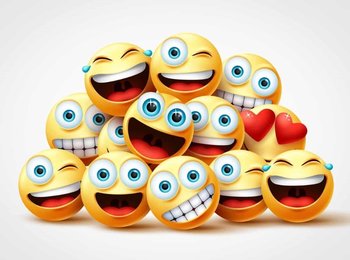 emojis risa