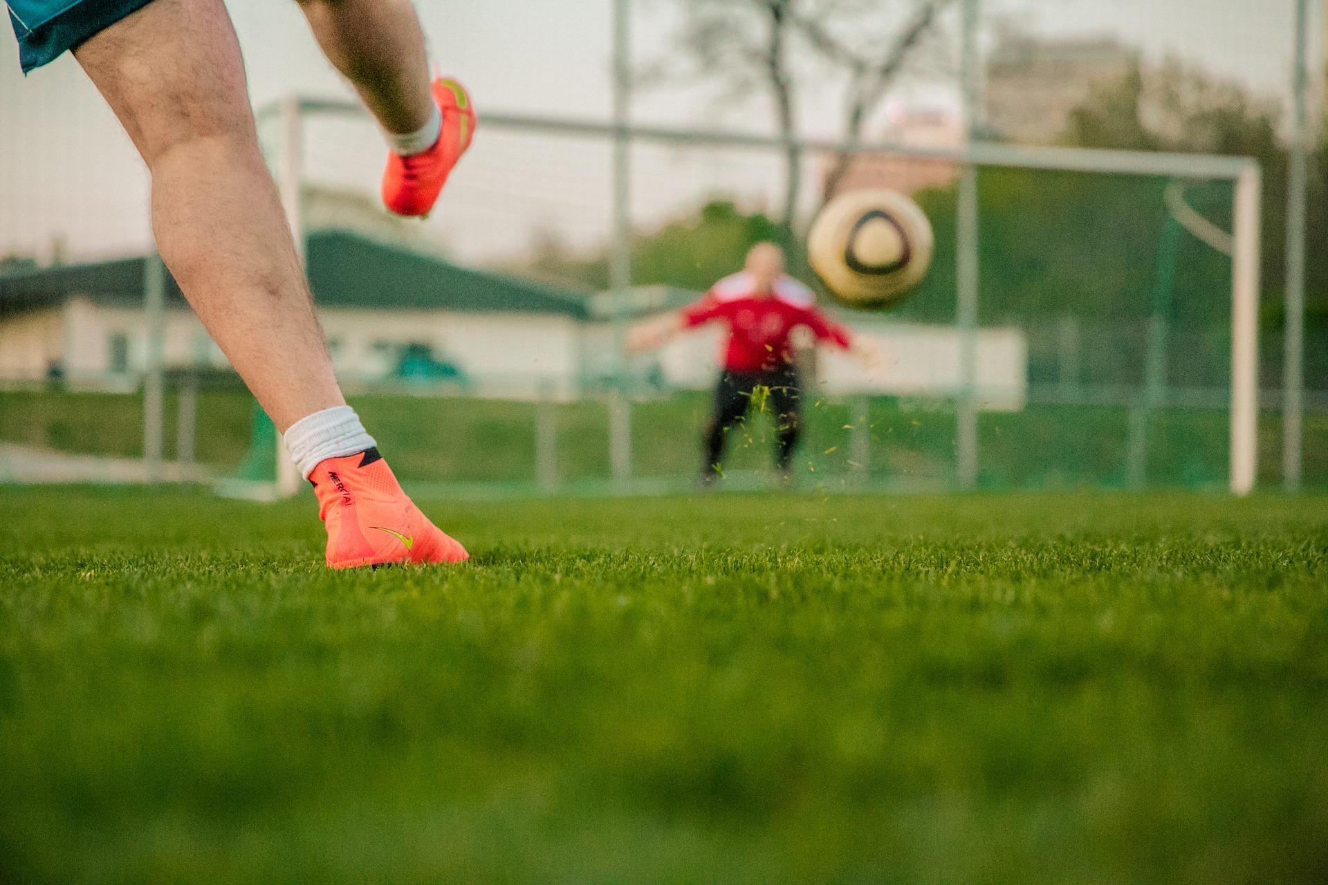 tiro al arco de fútbol