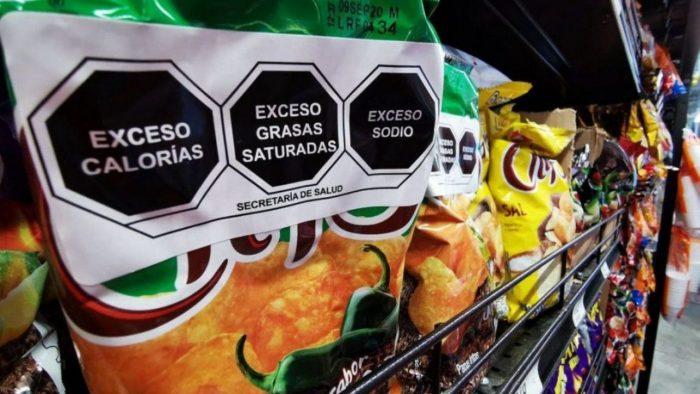 Etiquetado frontal de alimentos envasados.